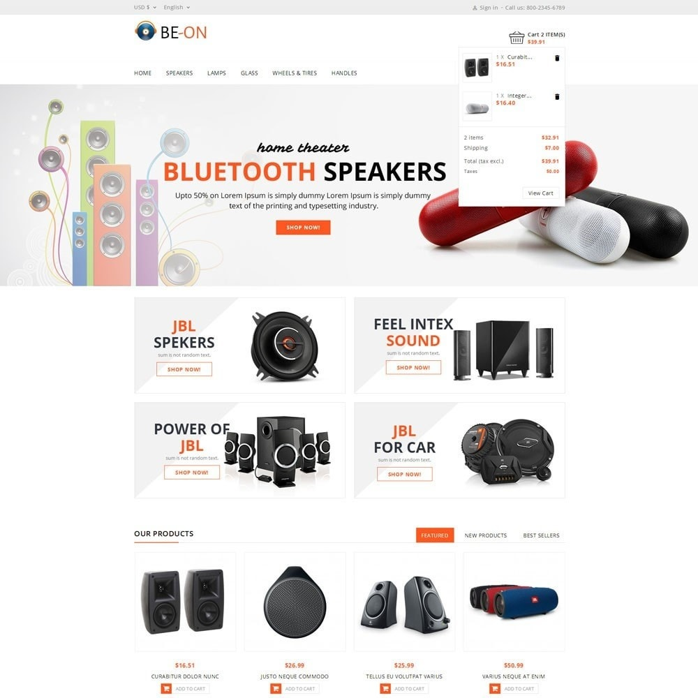 theme - Elettronica & High Tech - Beon Store - 6