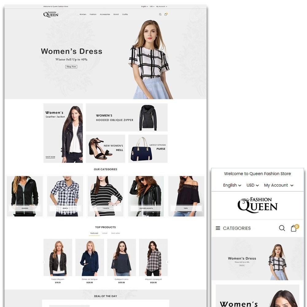 theme - Mode & Schuhe - Queen Fashion Store - 1