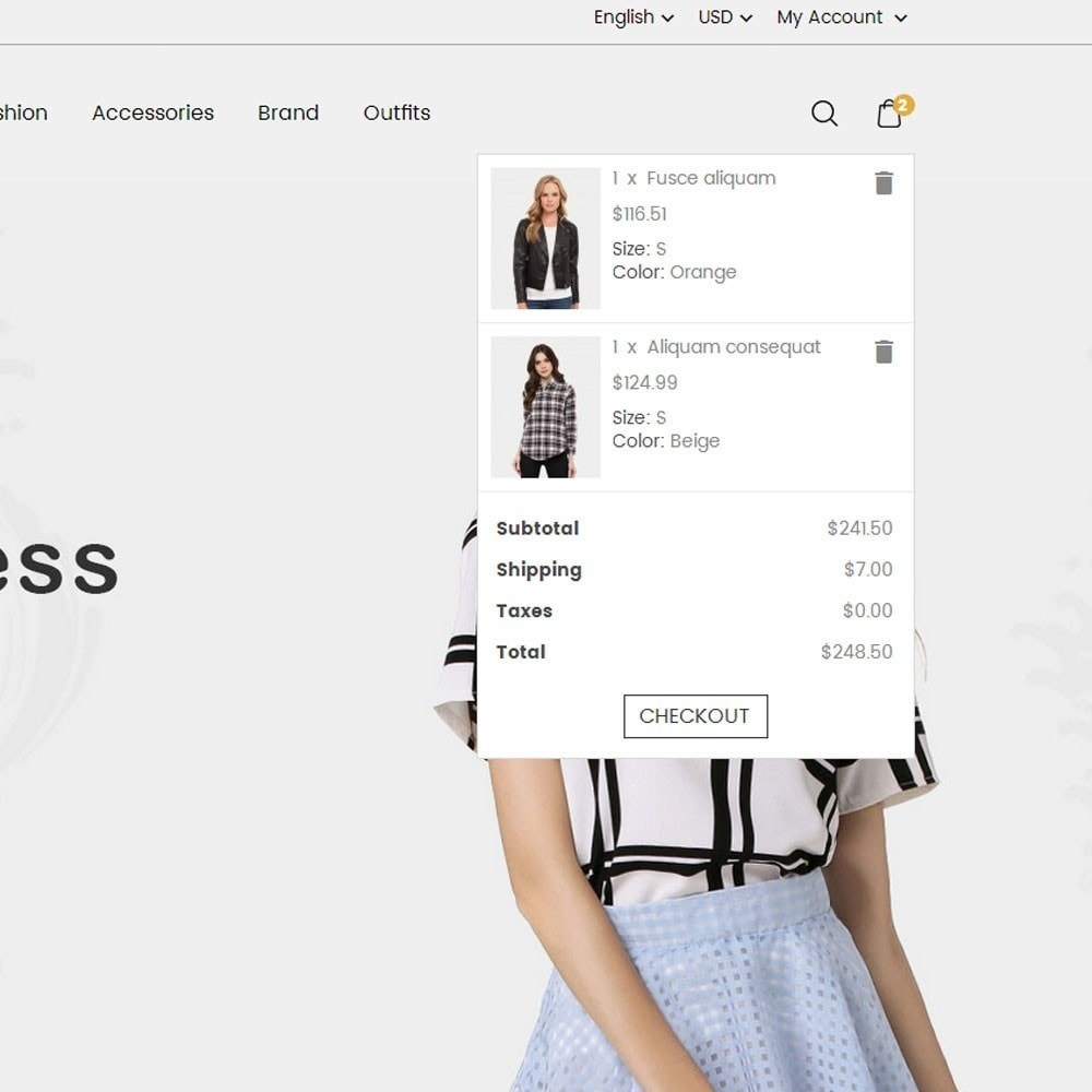 theme - Mode & Schuhe - Queen Fashion Store - 4