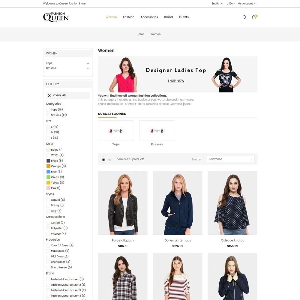 theme - Moda & Obuwie - Queen Fashion Store - 5