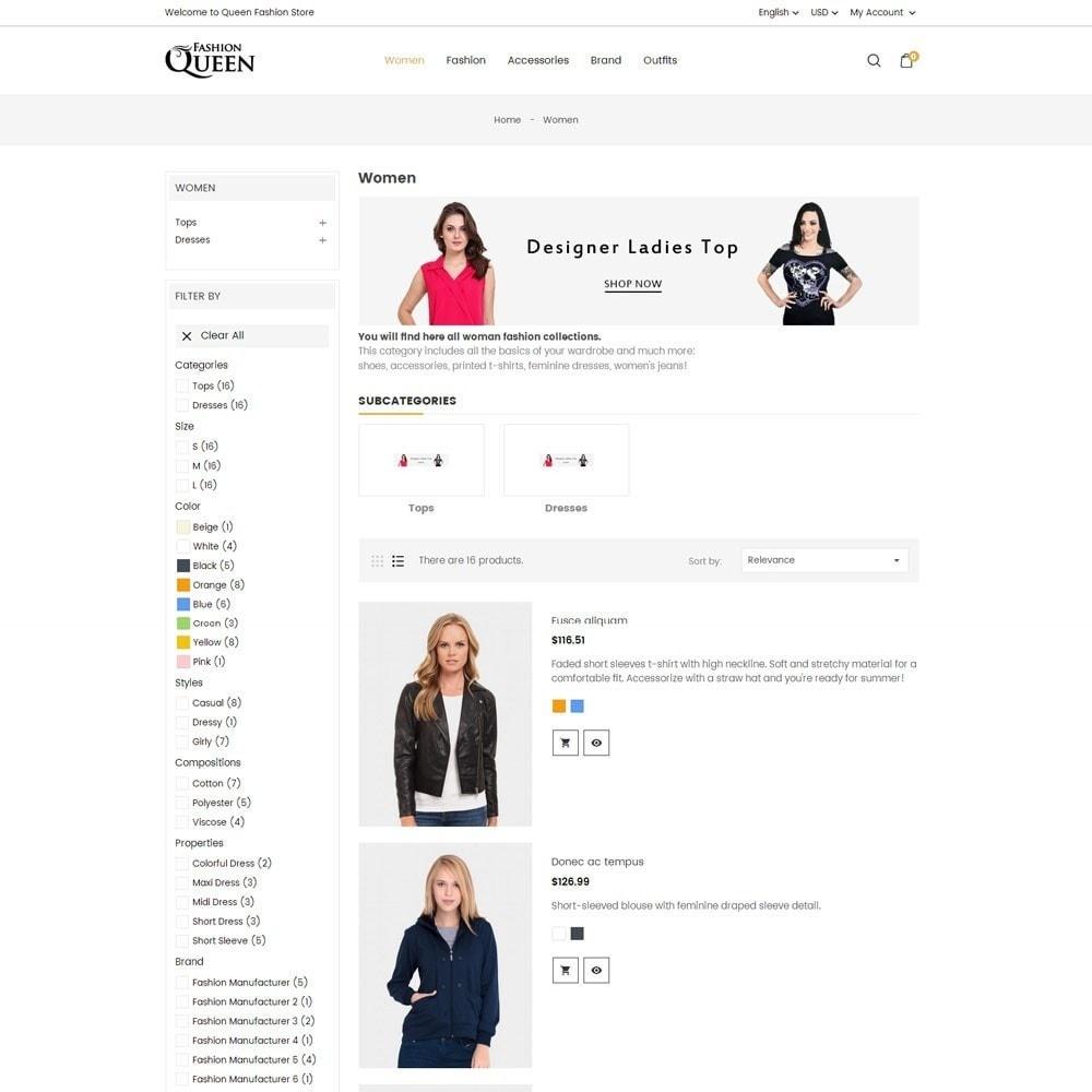 theme - Moda & Obuwie - Queen Fashion Store - 6