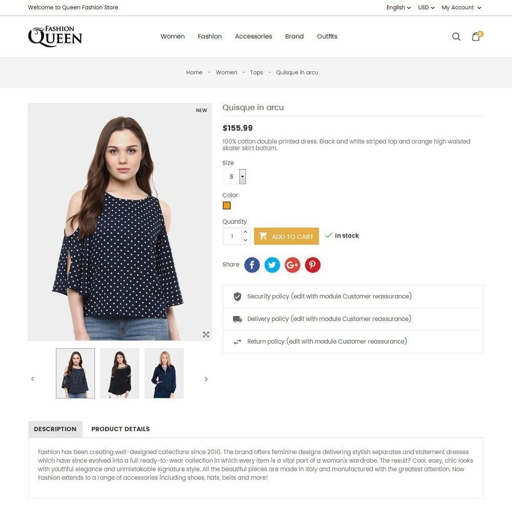 theme - Moda & Obuwie - Queen Fashion Store - 7