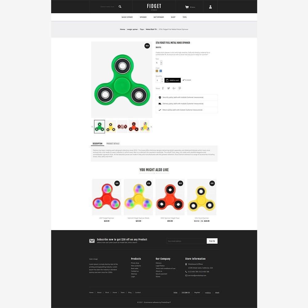 theme - Niños y Juguetes - Fidget - Toy Spinner Store - 3