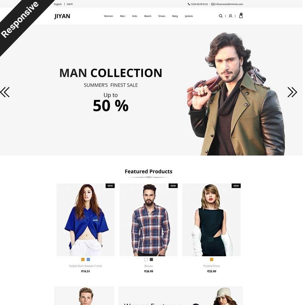 theme - Mode & Chaussures - Jiyan - Fashion Store - 1