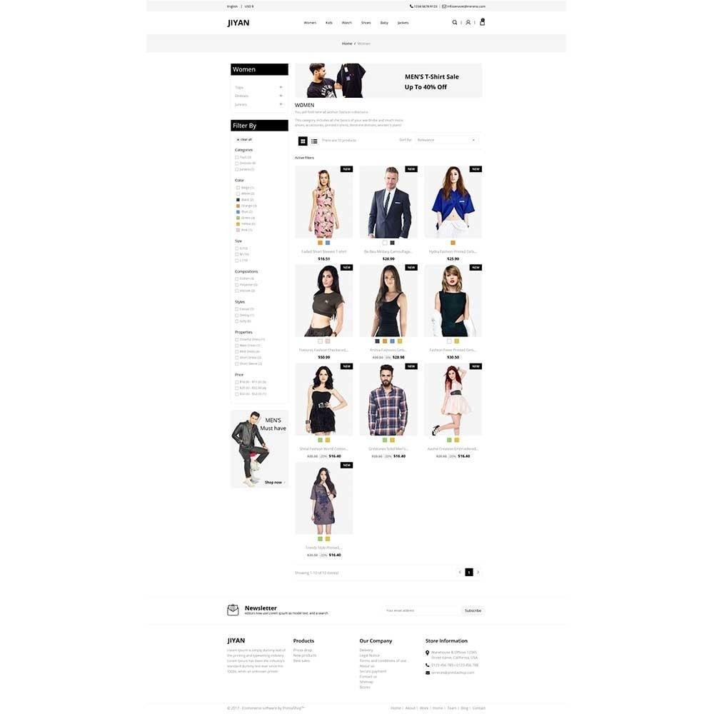 theme - Mode & Chaussures - Jiyan - Fashion Store - 2