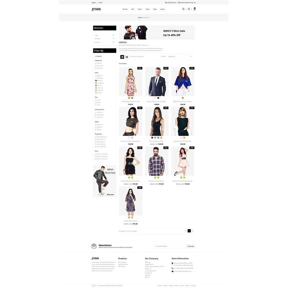 theme - Mode & Chaussures - Jiyan - Fashion Store - 3