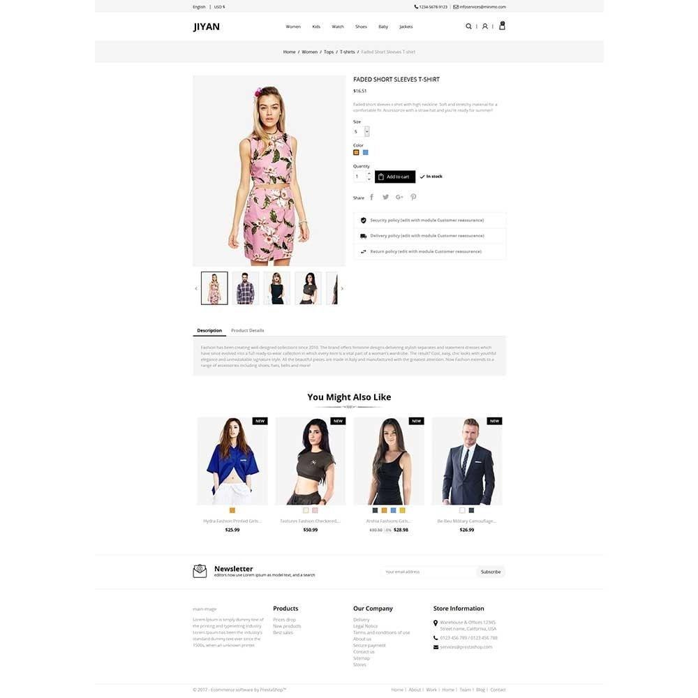theme - Mode & Chaussures - Jiyan - Fashion Store - 4