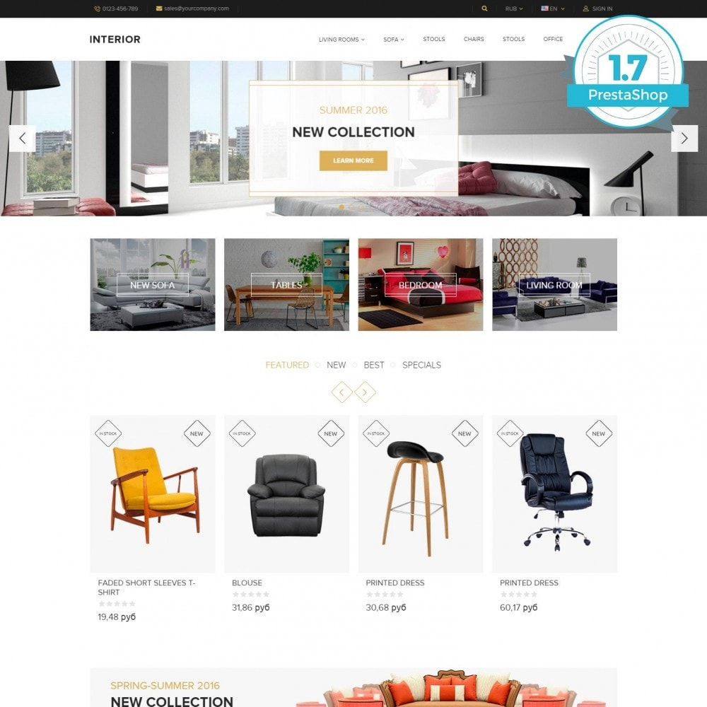 theme - Home & Garden - Interior - Furniture Online Store - 1
