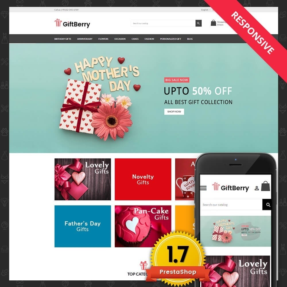 theme - Gifts, Flowers & Celebrations - Gift berry - 1