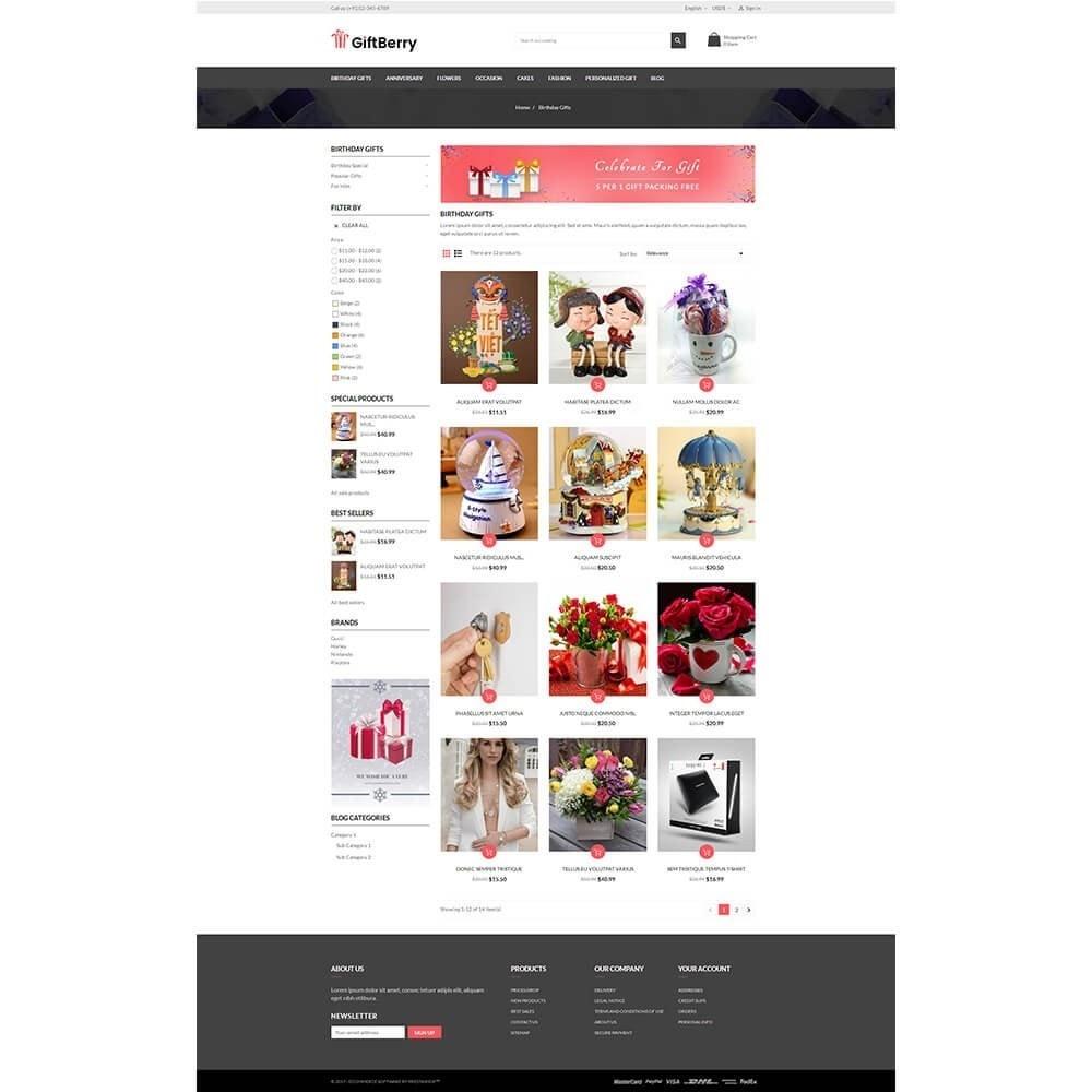theme - Подарки, Цветы и праздничные товары - Gift berry - 3