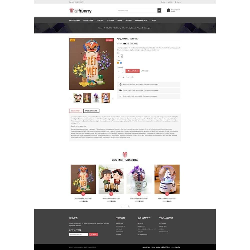 theme - Подарки, Цветы и праздничные товары - Gift berry - 5