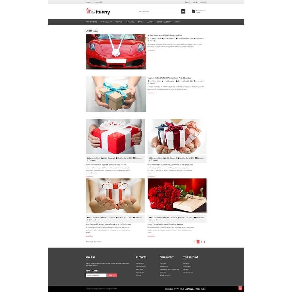 theme - Geschenke, Blumen & Feiern - Gift berry - 7