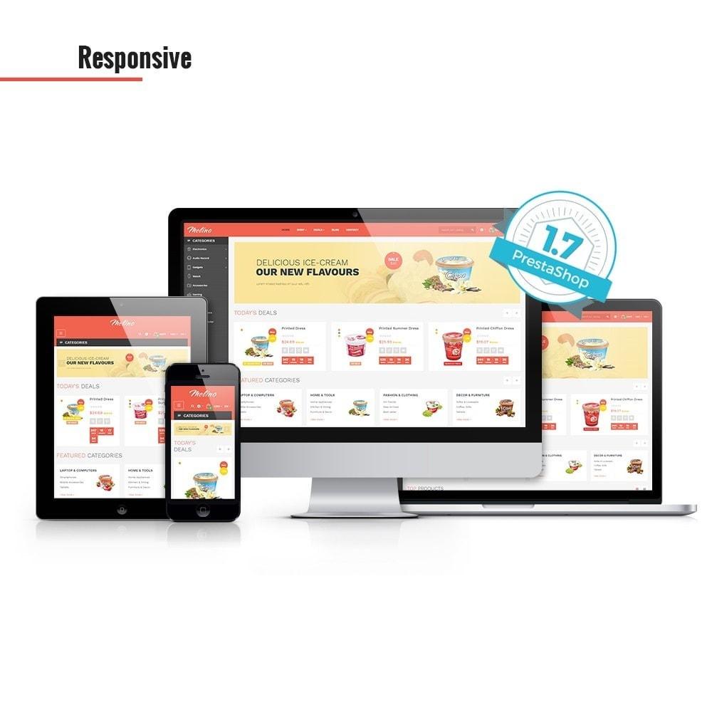 theme - Продовольствие и рестораны - Leo Melino - 1