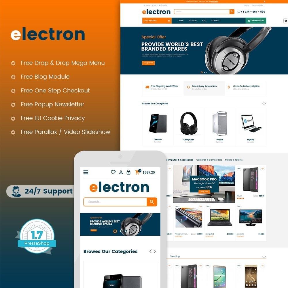 theme - Electronique & High Tech - Electron - Digital, Electronics & Hi-Tech Stores - 1