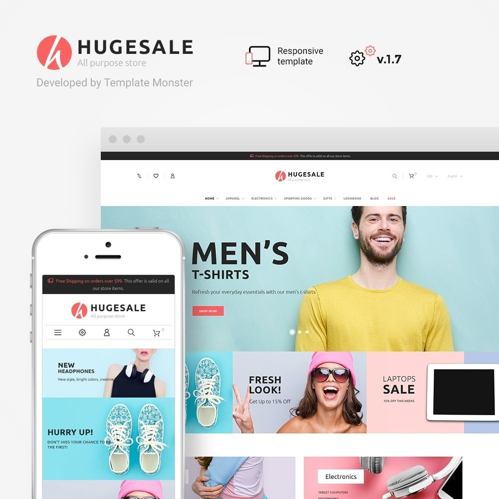 theme - Mode & Chaussures - Hugesale 1.7 - 1