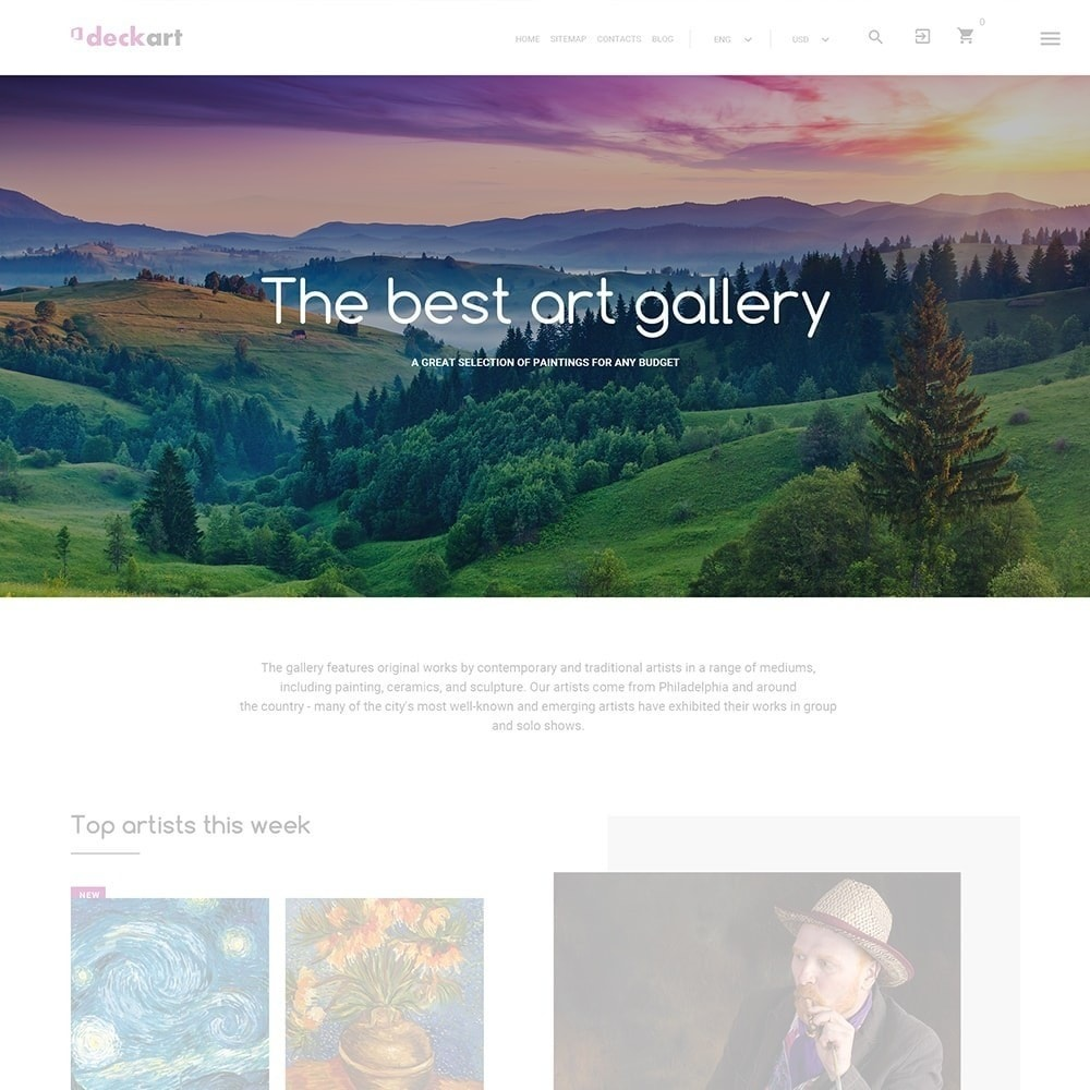 theme - Kunst & Cultuur - DeckArt - 2