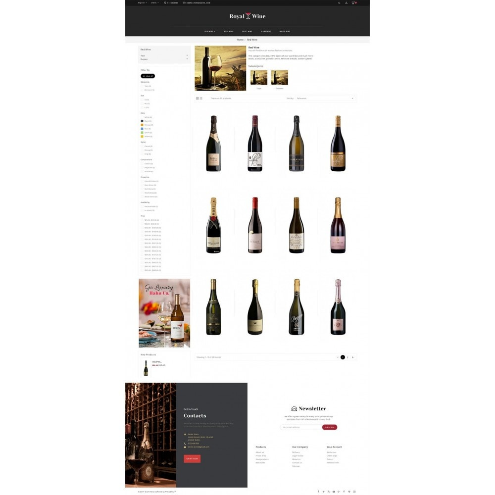 theme - Bebidas & Tabaco - Royal Wine - 3