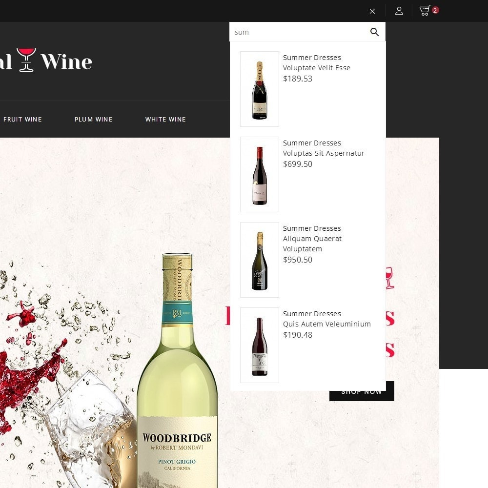 theme - Bebidas & Tabaco - Royal Wine - 9