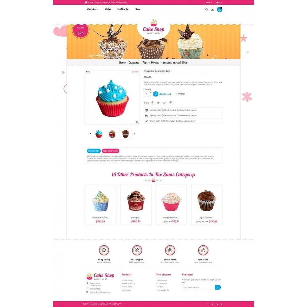 theme - Żywność & Restauracje - Cake Shop - 5