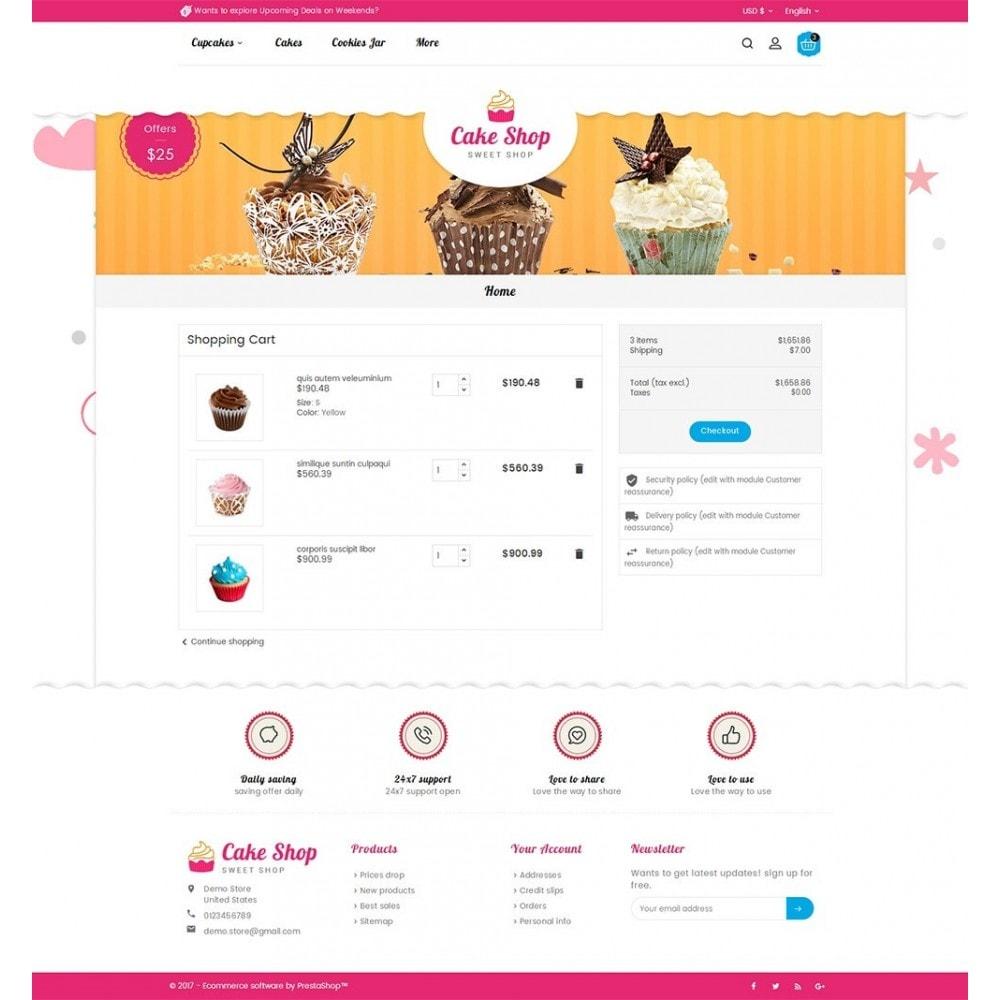 theme - Żywność & Restauracje - Cake Shop - 6