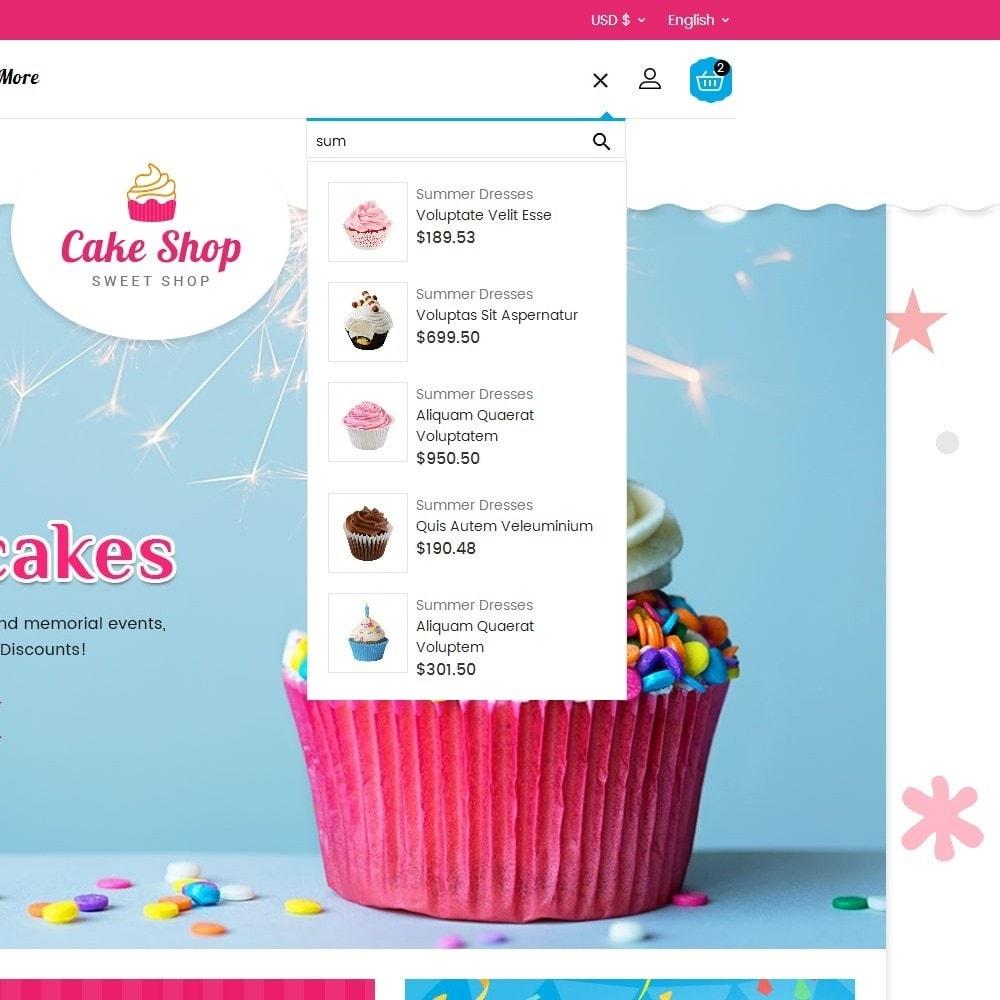 theme - Żywność & Restauracje - Cake Shop - 9