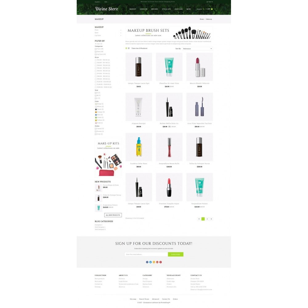 theme - Health & Beauty - Divine - Beauty Store - 3