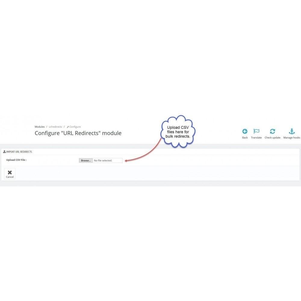 bundle - URL & Omleidingen - Pretty URLs + URL Redirects Manager -  Pack of 2 - 6