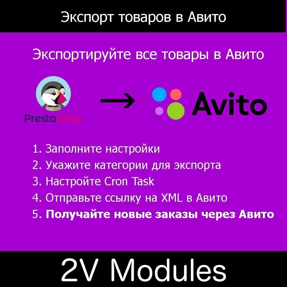module - Торговая площадка - Экспорт товаров в Авито - 1