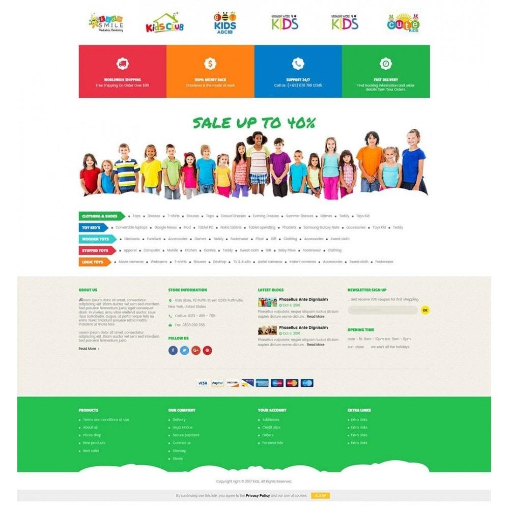 theme - Zabawki & Artykuły dziecięce - Kids Store - 4