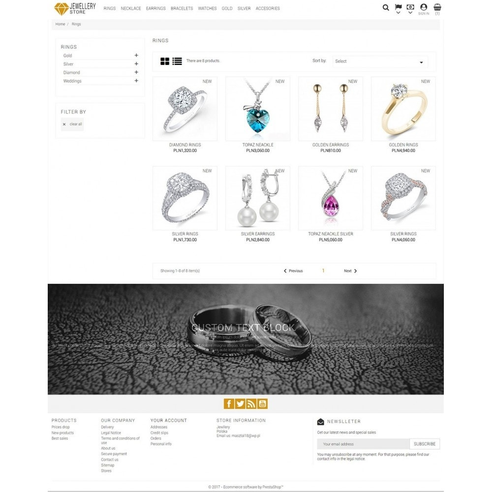 theme - Biżuteria & Akcesoria - Jewellery Store - 4