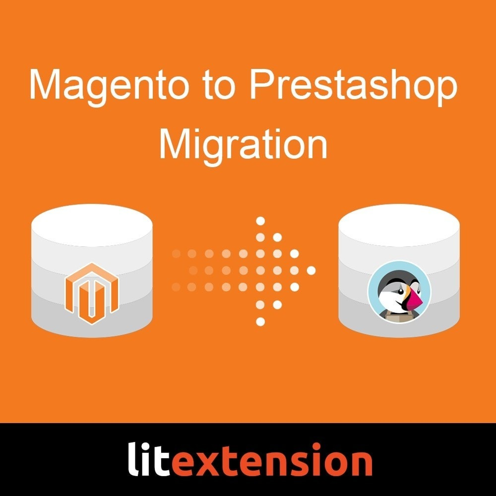 module - Migración y Copias de seguridad - LitExtension: Magento to Prestashop Migration - 1
