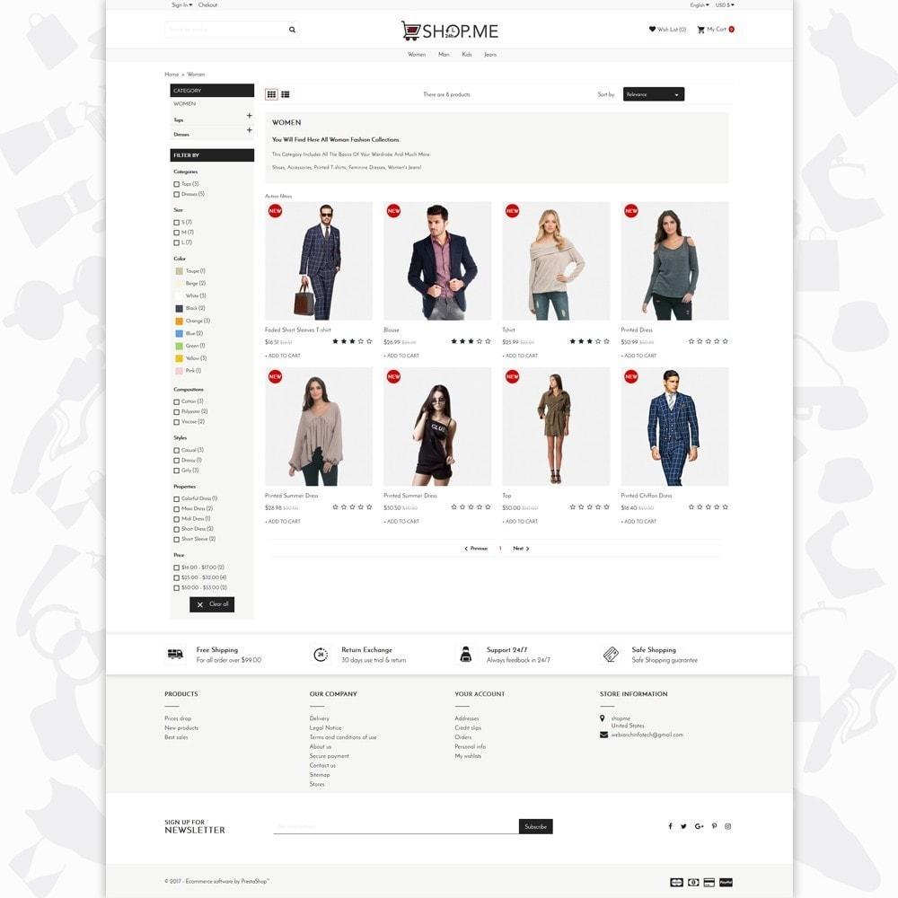 theme - Мода и обувь - Shopme Fashion - 3