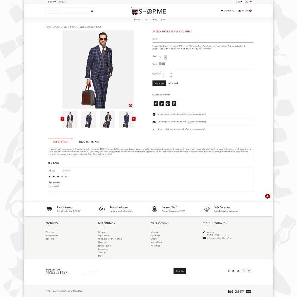 theme - Мода и обувь - Shopme Fashion - 5