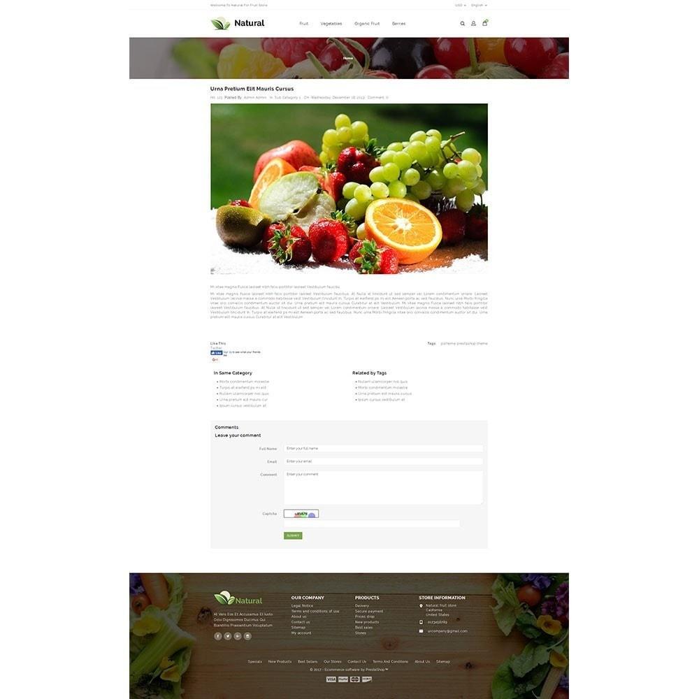 theme - Продовольствие и рестораны - Natural Fruit Store - 8