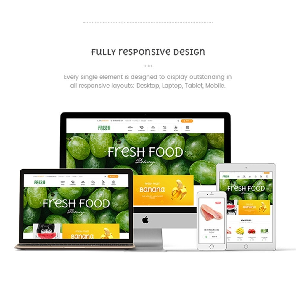 theme - Alimentation & Restauration - Pts Fresh2 - 4
