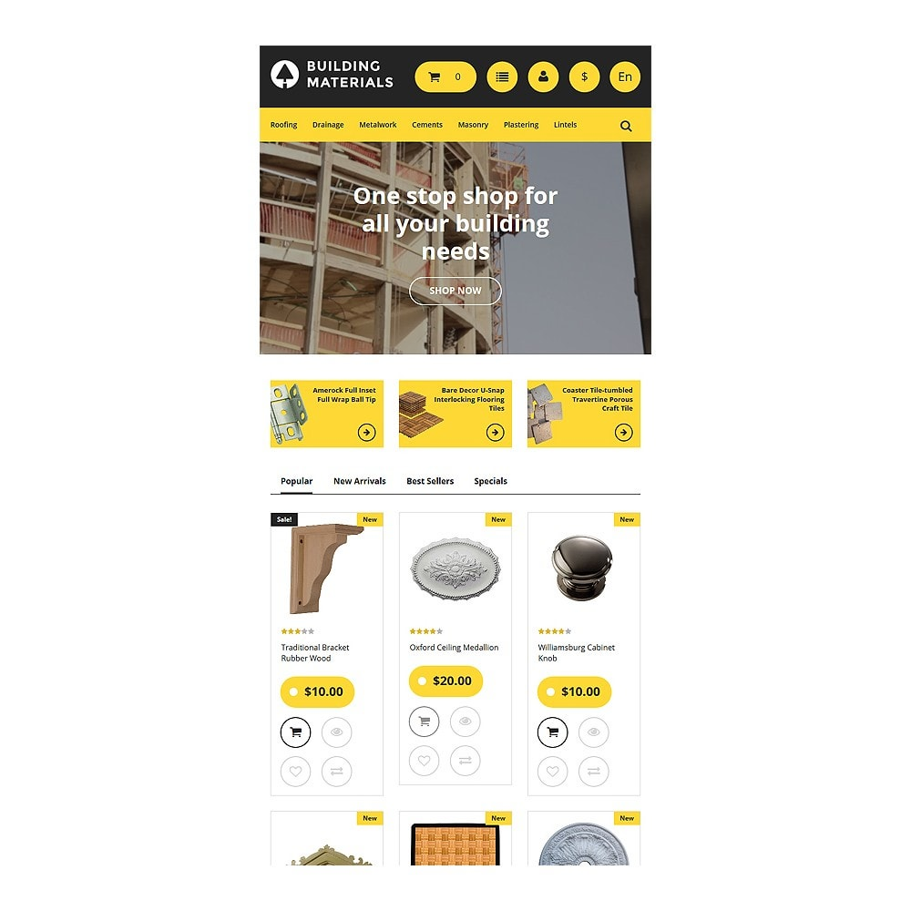 theme - Huis & Buitenleven - Building Materials - Building Store - 7