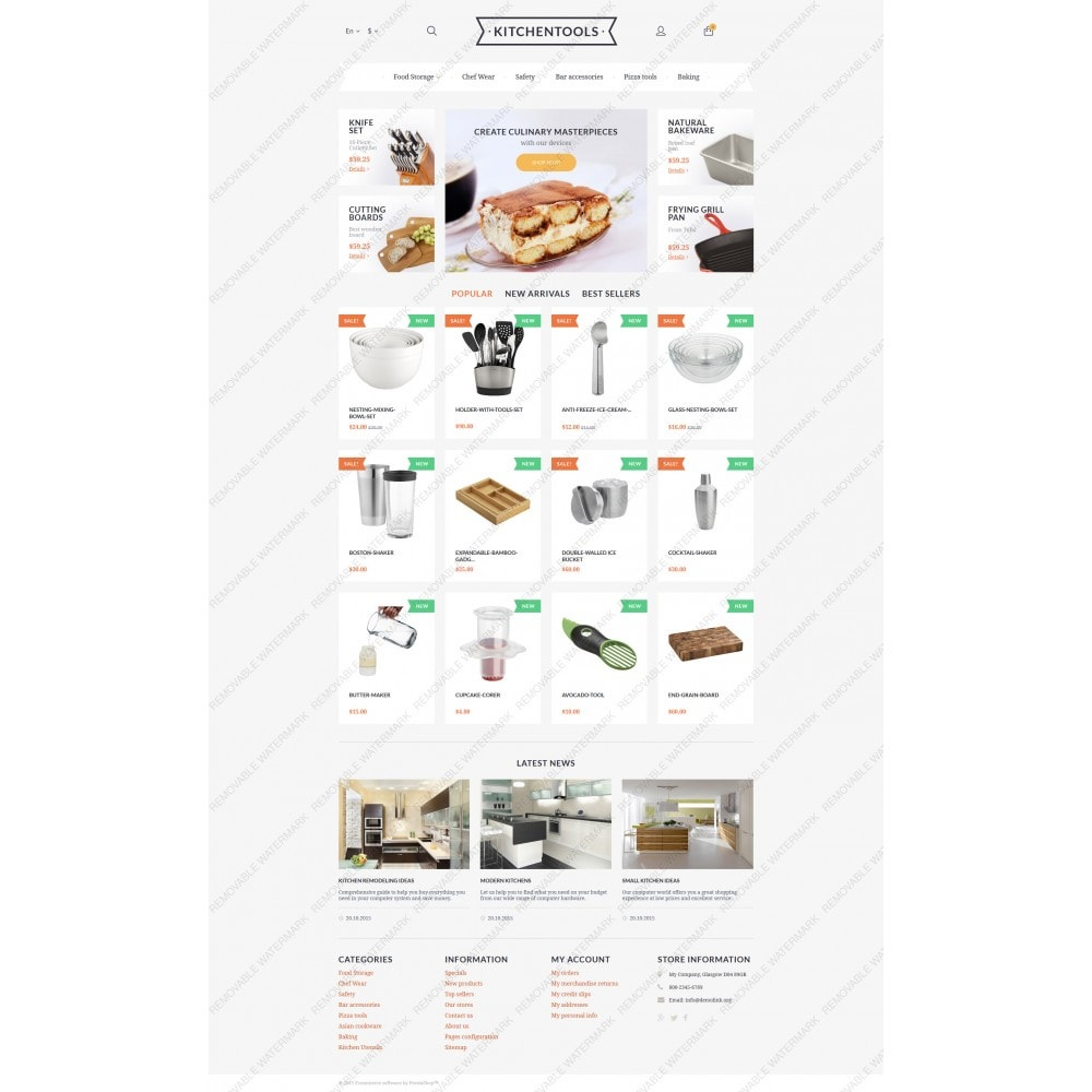 theme - Kultura & Sztuka - Kitchen Tools - 5