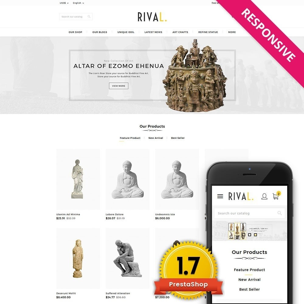 theme - Kunst & Cultuur - Rival Art & Craft Store - 1