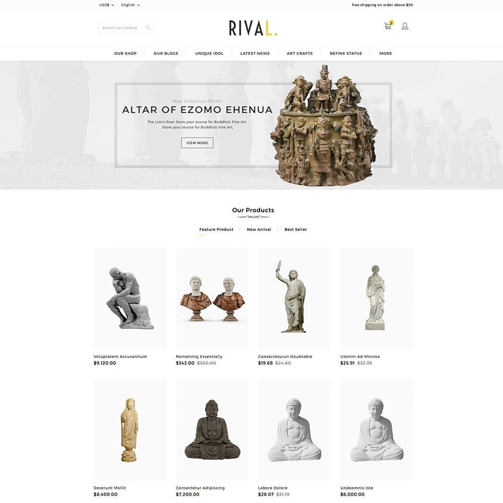 theme - Kunst & Cultuur - Rival Art & Craft Store - 2
