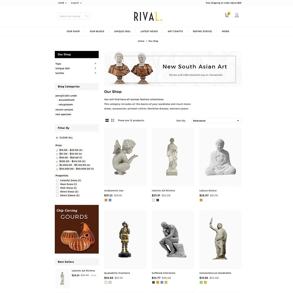 theme - Kunst & Cultuur - Rival Art & Craft Store - 3
