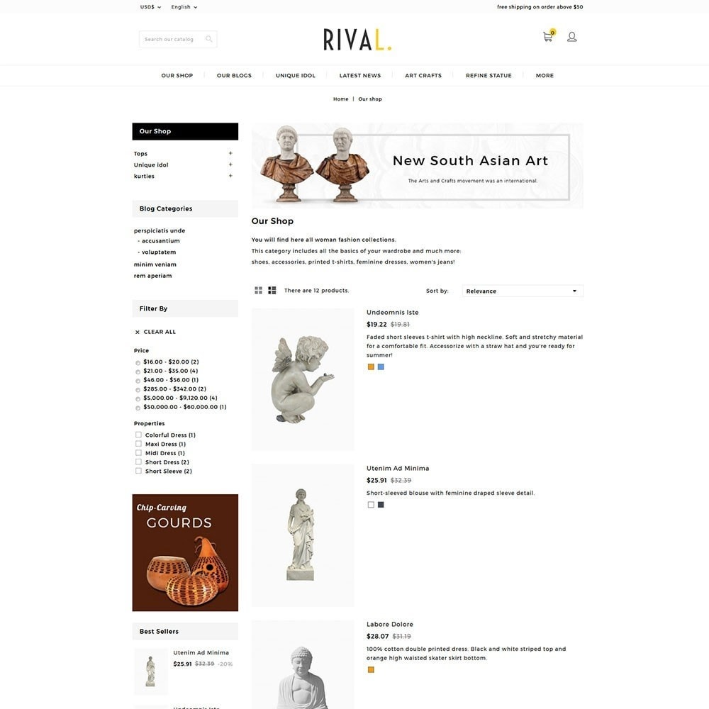 theme - Kunst & Cultuur - Rival Art & Craft Store - 4