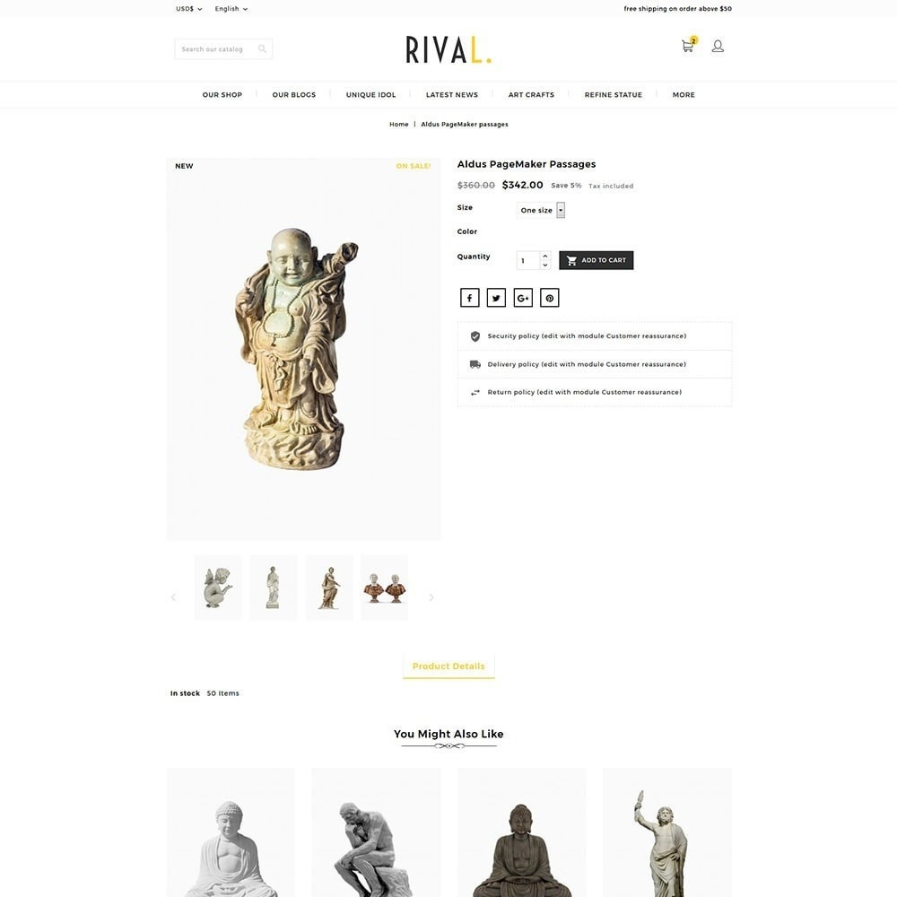 theme - Kunst & Cultuur - Rival Art & Craft Store - 5