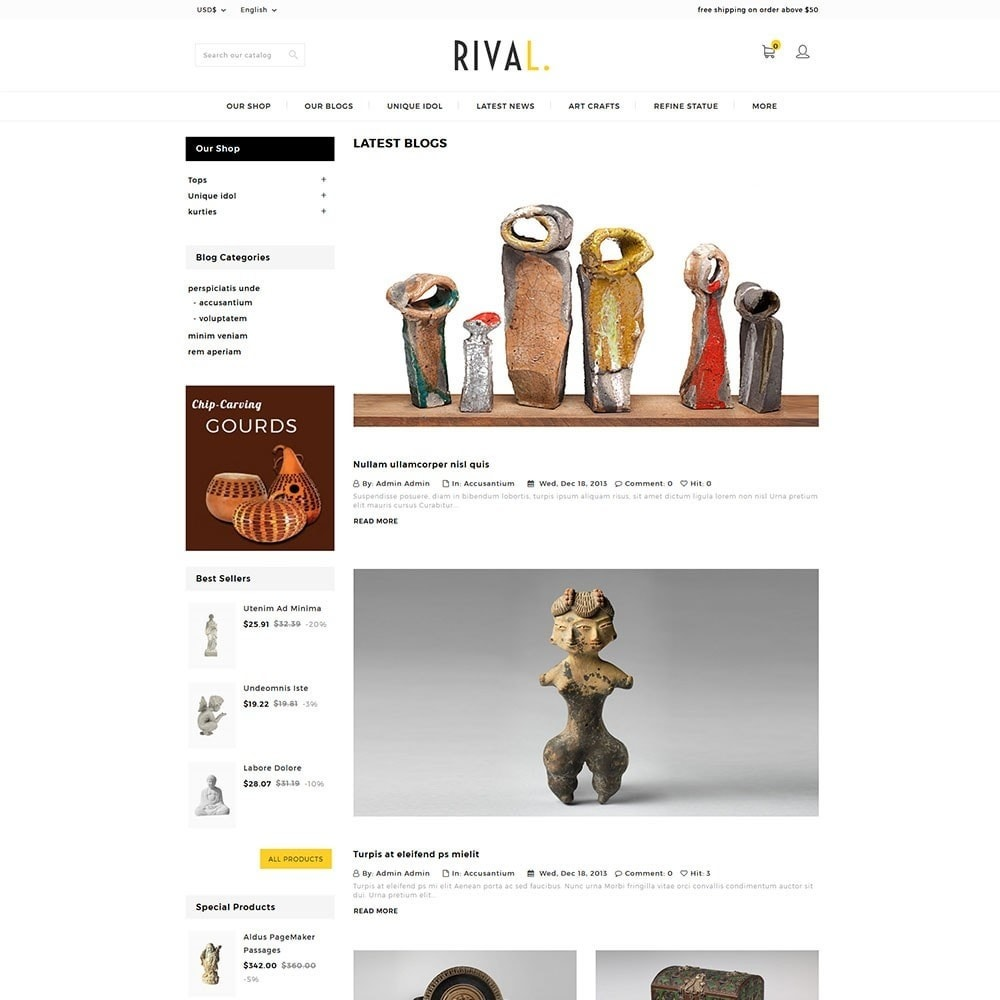 theme - Kunst & Cultuur - Rival Art & Craft Store - 6
