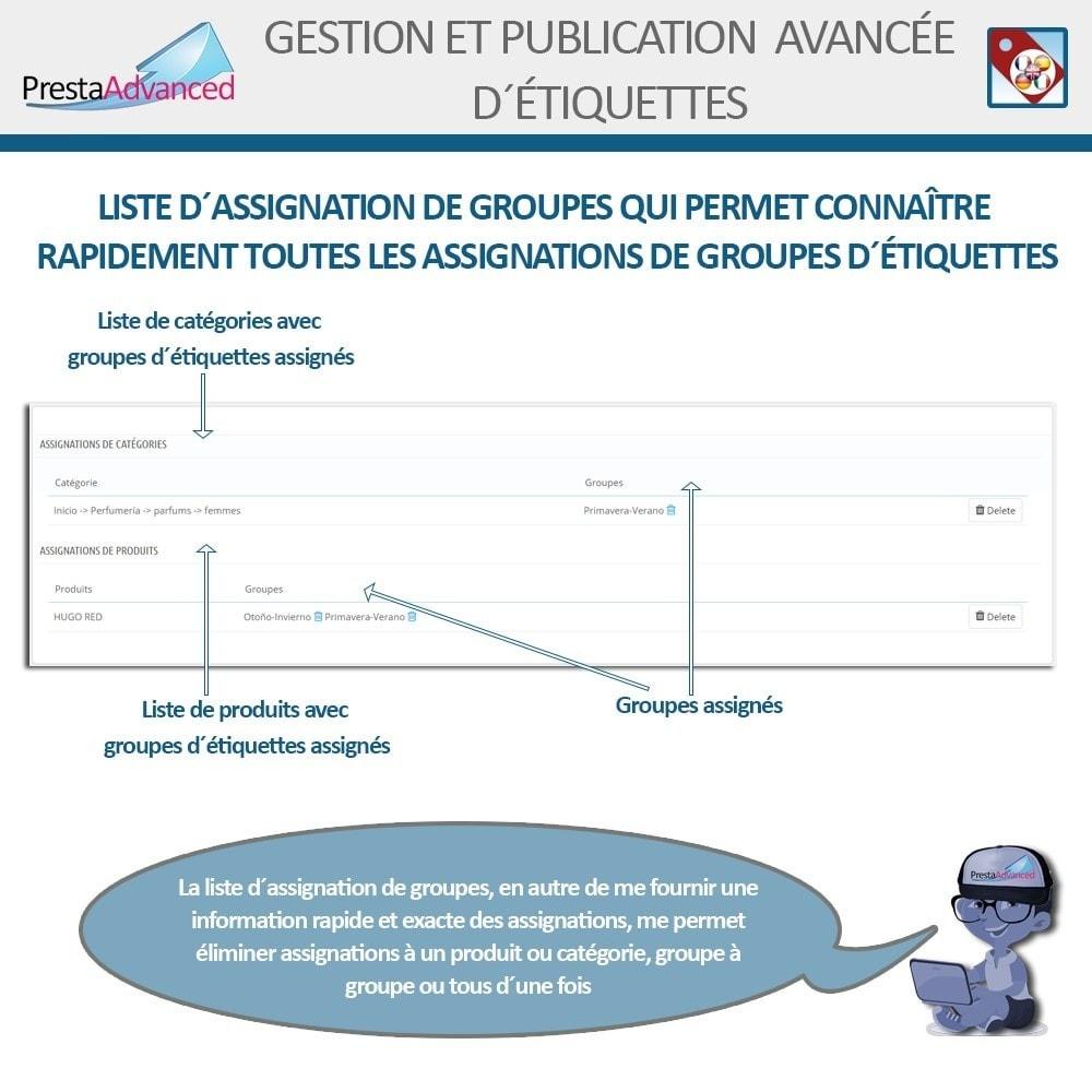 module - Etiquettes & Logos - Étiquettes: Gestion avancée et Publication - 8