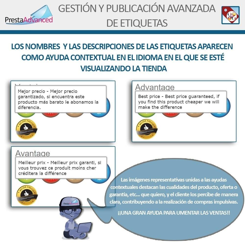 module - Etiquetas y Logos - Etiquetas: Gestión Avanzada y Publicación - 12