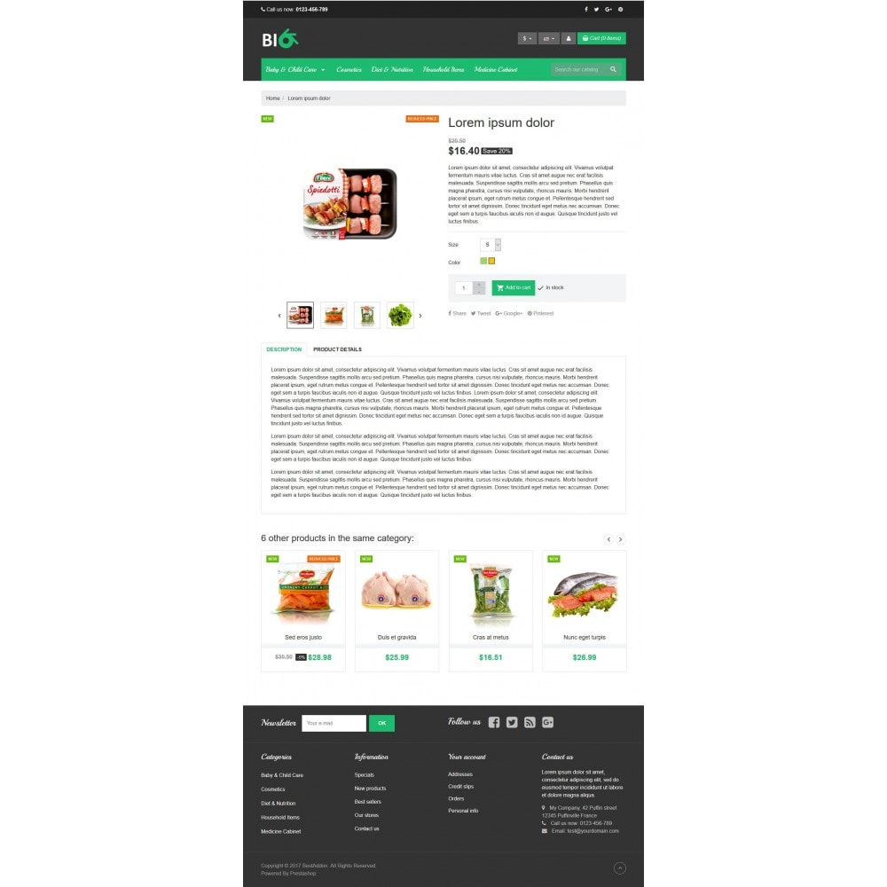 theme - Salute & Bellezza - VP_Bio Store - 4