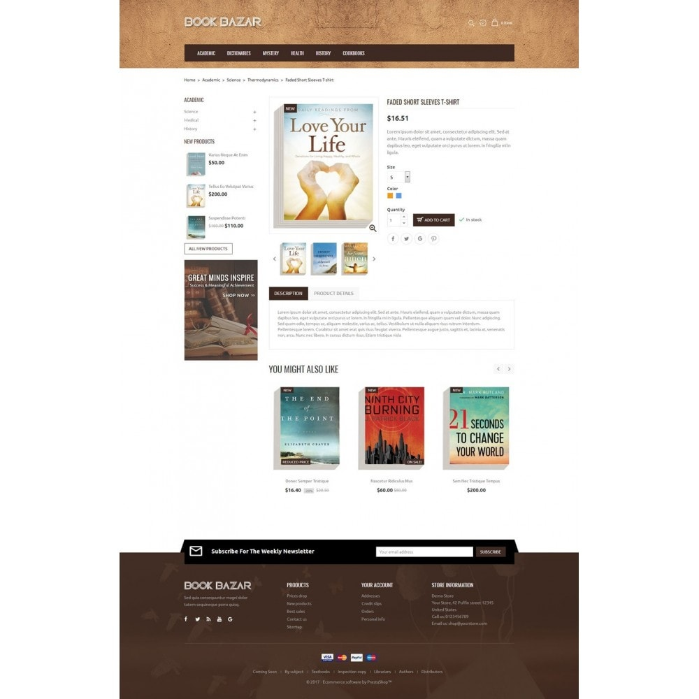 theme - Prezenty, Kwiaty & Uroczystości - Book Bazar - 5