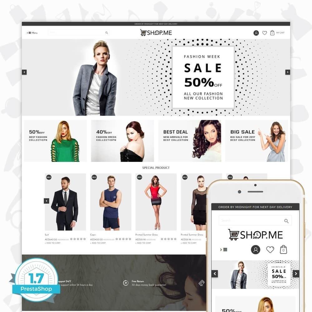 theme - Mode & Chaussures - ShopMe V3 - 1