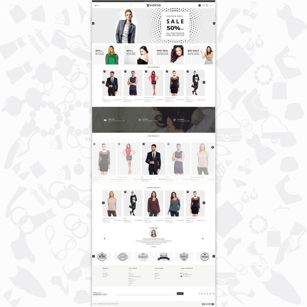 theme - Moda & Calzature - ShopMe V3 - 2