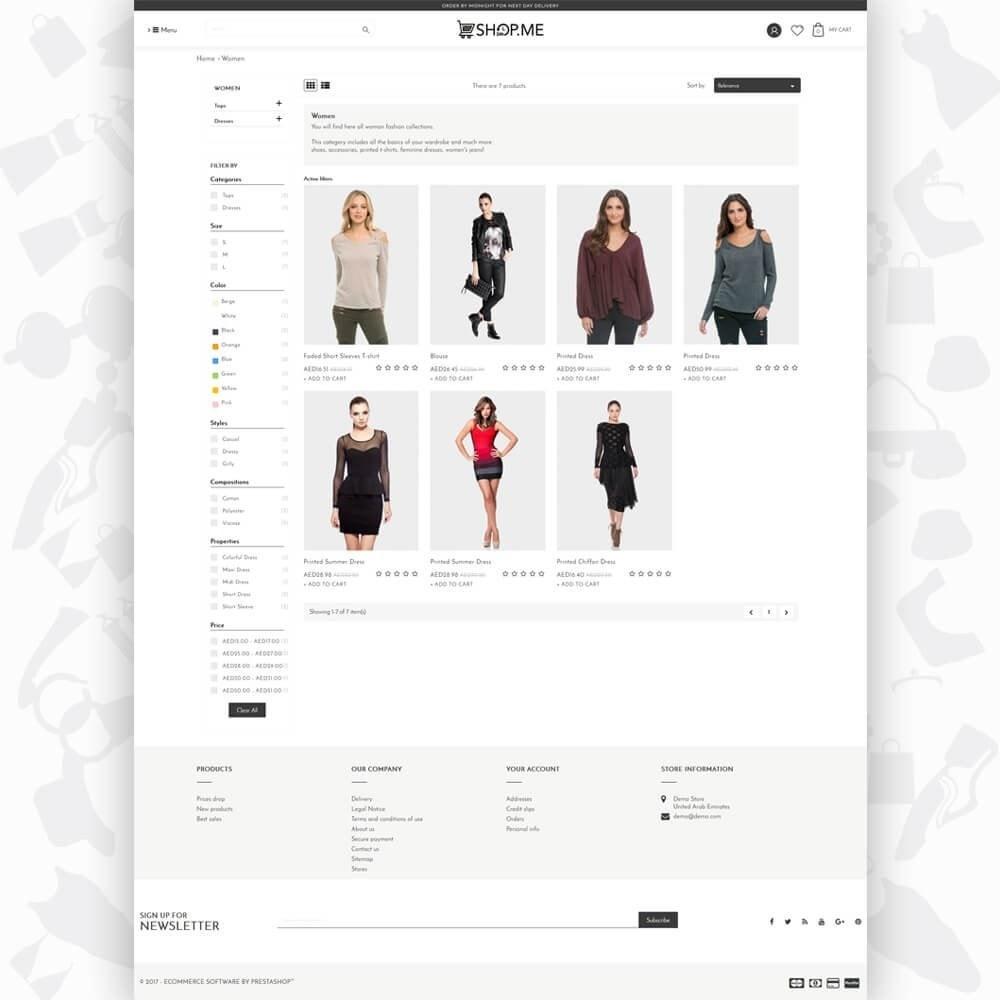 theme - Mode & Chaussures - ShopMe V3 - 3